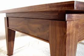 Black Walnut Coffee Table Mailbox Coffee Table Welcome To Walsh Woodworks