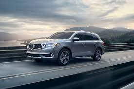 2018 acura. interesting acura 2018 acura mdx shawd wadvance and entertainment packages 4dr suv exterior  shown with acura
