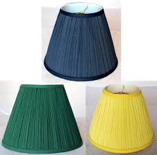 blue green yellow pleated lamp shade lamp shade pro