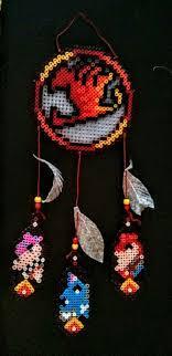 Beaded Dream Catchers Patterns 100 best Perler Bead Patterns Dream Catchers images on Pinterest 59