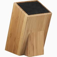 I actually had this knife block when I was in college. I bought my knife  set through the school and it came in a bag, but it was annoying to whip  the ...