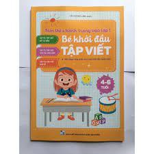 Sách - Bé khởi đầu tập viết (4-6 tuổi)