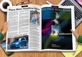 Full Page Newspaper Ad Template Gemgfx Newspaper Spread Mockup Free Download Gemgfx