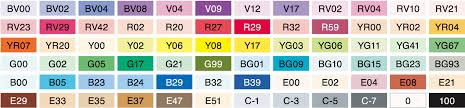 copic ciao color chart copic ciao copic official site english