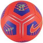 «<b>Футбольный мяч NIKE Pitch</b> Training SC3893 черный/синий 5 ...