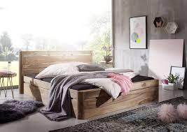 Schlafzimmer Set Schrank Bett Nachtschrank Kiefer Massiv Weiß Neu