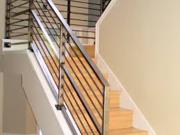 Image Of: Living Room Designs Of Stair Railing Wire Balusters Kit Cable  Regarding Cable Railing