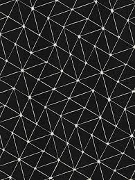 Geometrisch Patroon Tafelkleed Origami Zwart Patterns Prints