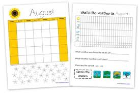 Monthly Weather Chart For Kids Homeschool Tools Archives Homeschool Creations