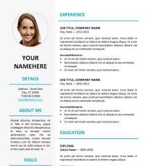 Modern Resume Template Free Download Docx Modern Resume Templates 64 Examples Free Download Resume Template