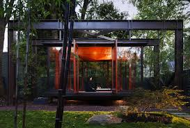 architecture houses glass. Fine Architecture View In Gallery Tea House By David Jameson Architect 4 Throughout Architecture Houses Glass