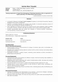 28 Best Of Procurement Manager Resume Format Resume Templates