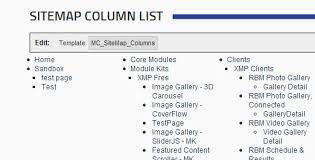 sitemap list