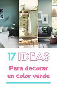 ideas para una decoración en verde