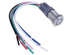 wiring diagram for push button switch the wiring diagram bi color anti vandal led switch push button on off switch