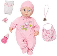 <b>Baby Annabell Zapf Creation</b> Doll: <b>Baby Annabell</b>: Amazon.co.uk ...