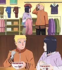 Naruto - Naruto and Hinata moments from the latest episode of Boruto. ❤️