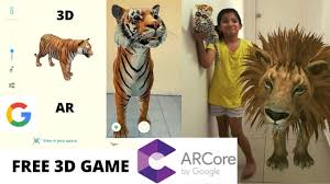KIDS Bored at Home? View AR 3D TIGER in Mobile Google Search - YouTube
