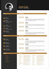Free Clean Two Color Resume Template In Indesign Indd Format Good