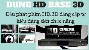 Đầu Phát Phim HD Tốt Nhất Dune Base 3D - Vidia Shop