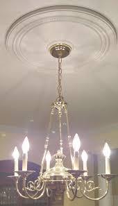 ceiling medallions for chandeliers elegant ekena millwork ashley inside chandelier medallion view 8 of