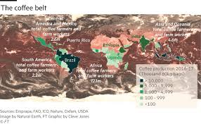 There are a number of distinct species with the. The Coffee Bean Belt Climate Change Map Financial Times