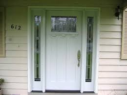 Steves U0026 Sons 68 In X 80 In Craftsman 3 Lite Arch Stained Solid Wood Exterior Doors Home Depot