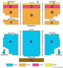 Al Hirschfeld Theatre Seating Chart Al Hirschfeld Theatre