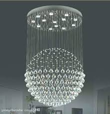 crystal ball chandelier ball chandelier lights modern staircase led crystal chandeliers lighting fixture for regarding crystal