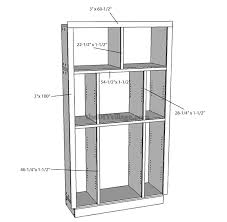 how to build a pantry cabinet with facing