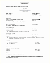 5 Resume Example For First Job Besttemplates Besttemplates