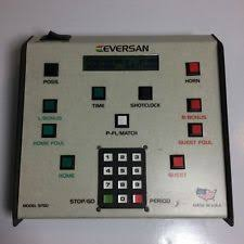 scoreboard controller sporting goods eversan basketball scoreboard wired controller for model 9750 tested works
