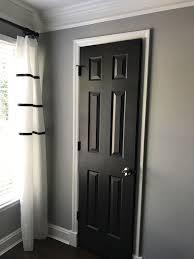 black interior doors dark interior doors benjamin moore mopboard black paint color modern