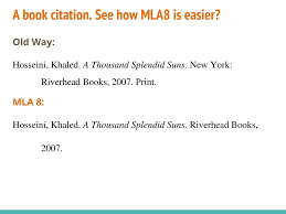Brave New Mla 8th Edition Ppt Download