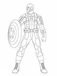 Small Picture Marvel Heroes Captain America Coloring Page coloring pages for