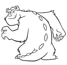 Kleurplaat Monsters En Co Pixar 975