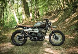 the chic off road triumph scrambler according to baak