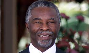 Thabo Mbeki, who earlier in his political career, as vice president, invoked Martin Luther King's 'I have a dream' speech in celebration of the nation's new ... - Thabo-Mbeki-001
