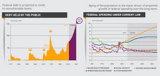 National Debt Growth Chart Infographic What Drives Long Term National Debt Growth