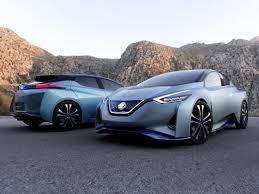 2018 nissan electric car. simple nissan photo 2018 nissan leaf ids concept inside nissan electric car