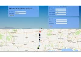 Trip Planner Calculator Financial Road Trip Planner Devpost