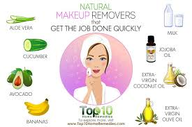 here are 10 natural makeup removers that get the job done quickly