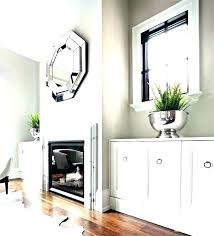 mirrors above fireplace mantels s mirror mantel