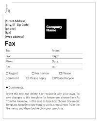 Ms Word 2010 Fax Cover Sheet Template Lezincdc Com