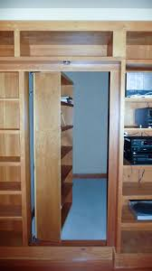 Cabinet Bottom Trim Hidden Pivot Bookcase Installation Thisiscarpentry