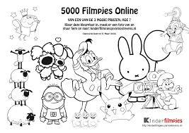 Kleurplaat 5000 Filmpjes Kinderfilmpjes Intended For Filmpje