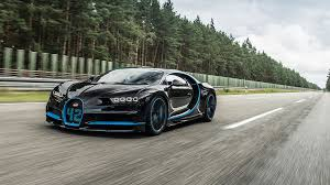 The bolide's top speed is well above 310. 0 400 0 Km H In 42 Seconds Bugatti Chiron Sets World Record