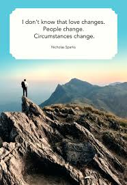 Love Changes Quotes And Sayings Ffdforoglobalorg