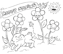 Spring Coloring Page Telematik Institutorg