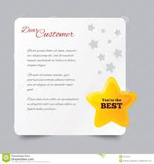 Sample Letter Thanking Customer For Business Concept Brilliant Ideas